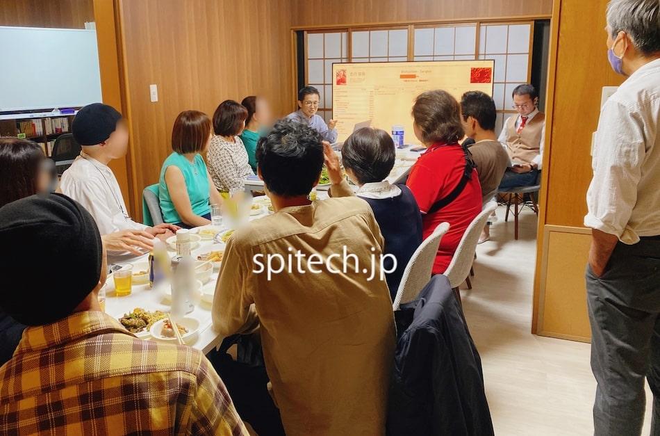 [大盛況]9/26(日) 第一回スピテックDAY〜玄米Cafe&杉Bar〜レポート